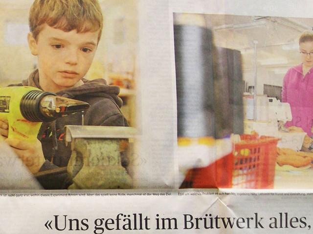 Brütwerk in der Zeitung