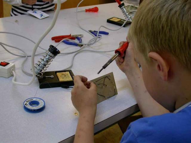 Elektronik im Brütwerk