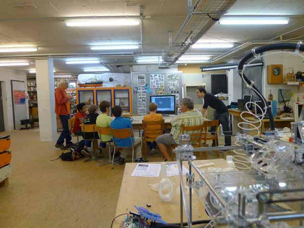Für Profitüftler mit einigem Knowhow ab 12 Jahren  Extrem-Tüftler – Workshop Technik & Arduino