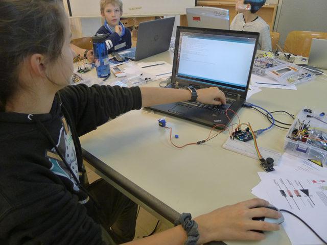 Arduino- programmieren ausprobieren