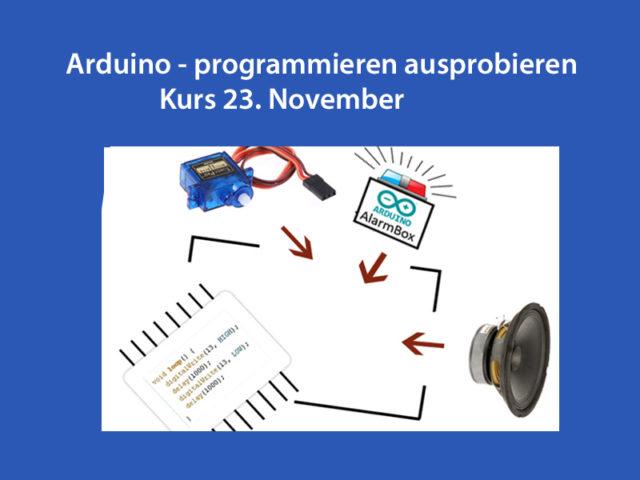 Arduinokurs bitte anmelden!