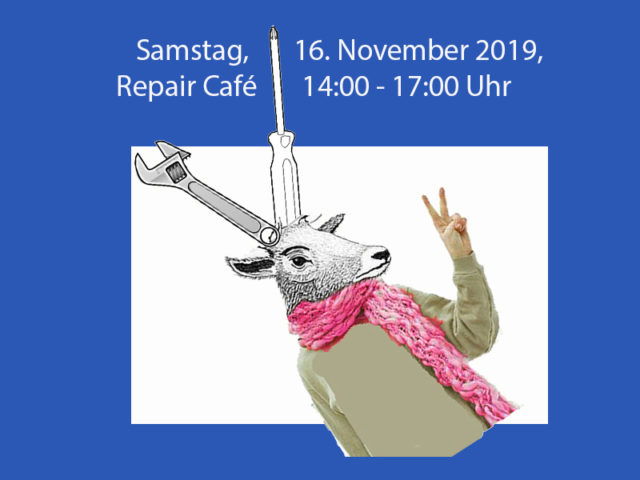 16. November – Repair Café Buchs