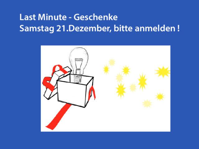 Last Minute – Weihnachtsgeschenke