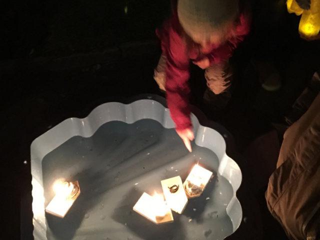 Buchs – Lichterfest auf dem Kappeli- Generationenspielplatz